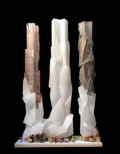 Mirvish and Frank Gehry Unveil Conceptual Design to Transform Toronto's Entertainment District Architecture Design, Futuristic Architecture, Amazing Architecture, Contemporary Architecture, Toronto Architecture, Dynamic Architecture, Installation Architecture, Commercial Architecture, Frank Gehry