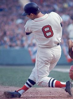 "this-day-in-baseball: "" November 1967 Triple Crown winner Carl Yastrzemski receiving 19 of 20 first-place votes, is selected by the BBWAA as the American League MVP. Baseball Uniforms, Baseball Socks, Sports Baseball, Buy Basketball, Baseball Stuff, Baseball Caps, Chicago White Sox, Boston Red Sox, Boston Bruins"