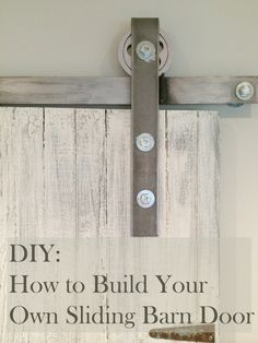 During one of my trips to the Christie Antique Show, I found an old door that was picked up from a diner they were tearing down. Originally I wanted to hang it for our pantry door but that didn't w...