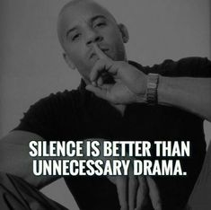 Silence is better than unnecessary drama. Wisdom Quotes, True Quotes, Great Quotes, Quotes To Live By, Motivational Quotes, Inspirational Quotes, Drama Quotes, Peace Quotes, Strong Quotes
