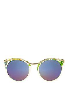 Siren Round Sunglasses