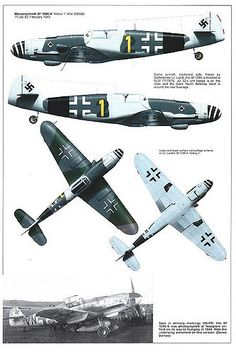 Bf 109 G, G12 and K variants (15)   GLORY. The largest archive of german WWII images   Flickr