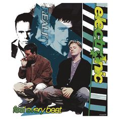 Electronic (Johnny Marr of The Smiths + Bernard Sumner of New Order) Feel Every Beat / Reality Design