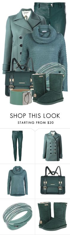 """""""Teal Uggs????"""" by pippimommy ❤ liked on Polyvore featuring ESCADA, Gucci, ONLY, River Island, Swarovski, Bearpaw, Marc by Marc Jacobs, women's clothing, women and female"""