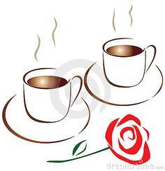 Coffee for two by Irina Onufrieva, via Dreamstime