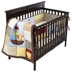 Tiddliwinks Noah's Ark All Around Crib Bumper at Target Boy Nursery Bedding, Nursery Twins, Baby Bedding Sets, Crib Sets, Baby Nursery Decor, Baby Boy Nurseries, Nursery Themes, Nursery Ideas, Noahs Ark Nursery