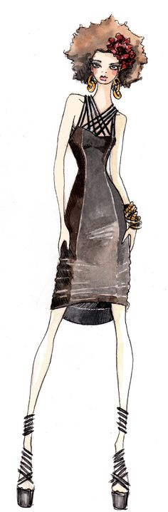 Paperfashion  Be Inspirational❥ Mz. Manerz: Being well dressed is a beautiful form of confidence, happiness & politeness