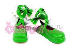 Shugo Chara -- Amu Hinamori - Amulet Clover Cosplay Shoes Version 01 $47.95