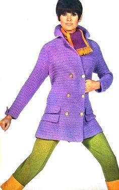 Libelle (Dutch) September 1967  Sophy Derly, winter coat