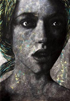 "Saatchi Art Artist Leonardo Lili; Painting, ""I know you feel what I feel"" #art"