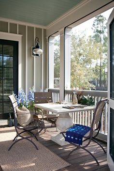 beach home designed by Interior Philosophy as seen in Atlanta Homes & Lifestyles magazine