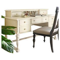 Paula Deen Home Sweet Tea Computer Desk with Keyboard Tray & Reviews | Wayfair