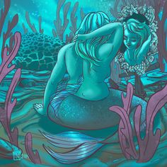 Mermaid Drawing – The Chubby Mermaid