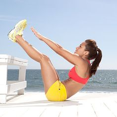 No. 3 V-up: Say hello to summer with 13 fat-burning exercises created by a top trainer from NBC's The Biggest Loser.