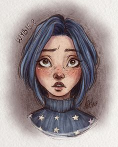 Coraline and Wybie meet after a really long time. That's what I live for. Cool Art Drawings, Pencil Art Drawings, Art Drawings Sketches, Art Sketches, Tim Burton Kunst, Tim Burton Art, Coraline Jones, Coraline Aesthetic, Aesthetic Art