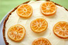 Clementine Mousse Cheesecake #recipe #dessert
