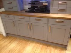 Carisbrooke taupe kitchen b q kitchen pinterest for Kitchens b q cooke and lewis