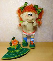 Ravelry: Pippi Longstocking Doll pattern by Galina Savushka #Longstocking #knittedtoys  #kinttingpattern