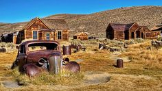 Gone but not forgotten, these once-bustling mining outposts offer visitors a look at Old West ghost towns, from kitschy to untouched.