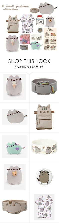 """A small pusheen obsession"" by unique-and-chic ❤ liked on Polyvore featuring OPI, pusheen and obession"