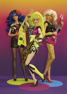 The Misfits. Stormer, Pizzazz and Roxy