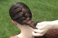 I never learned how to french braid my own hair. Now I need to learn so that I can braid my daughter's....
