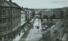 Oslo Bogstadveien og Valkyrie plass 1920 Utg Mittet