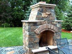 Outdoor Fireplaces and Outdoor Patios Masonry by Merlin Goble ...