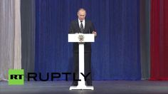 Putin: Russian army is extinguishing terrorists who have expansion plans...