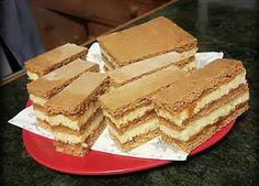 Fincsi receptek: Mézes krémes Apple Pie, Vanilla Cake, Tiramisu, Food And Drink, Bread, Cooking, Ethnic Recipes, Gastronomia, Recipies