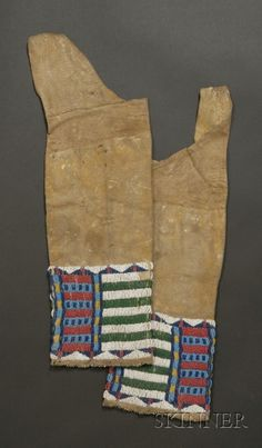 Cheyenne girl's leggings, 19 century