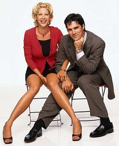 Jenna Elfman & Thomas Gibson (i. Imaginary Mary, Jenna Elfman, Thomas Gibson, Monkey King, Fear The Walking Dead, Daddy Issues, Criminal Minds, Vintage Movies, American Actress