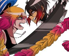 Uno and Jyugo from Nanbaka