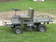 M274 military mule half scale home build - Page 3 - DIY Go Kart Forum