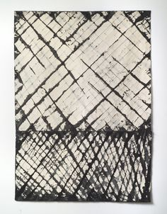 "#caroline_burton_(re)confirm62.5""hx45""w#canvas#pigments#acrylic#thread Louvre, Textiles, Contemporary, Rugs, Abstract, Architecture, Canvas, Painting, Home Decor"