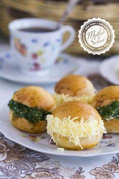 Saçaklı Mini Sandviçler (Pastane Saçaklısı)