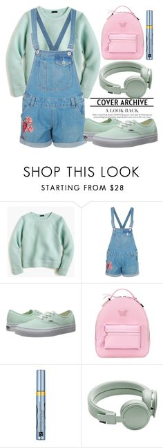 """265"" by erohina-d ❤ liked on Polyvore featuring J.Crew, Boohoo, Vans, Versace, Estée Lauder and Urbanears"