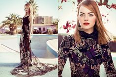 Emma Stone's Stunning Look For Vogue US May Issue