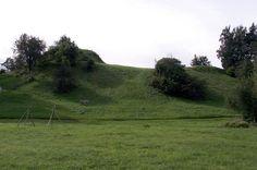Tērvete hillfort. Main Semigallian centre in the late iron age