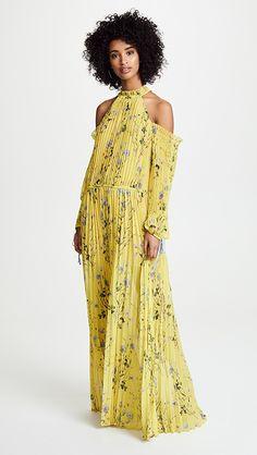 Self Portrait Floral Printed Maxi Dress | SHOPBOP