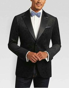 43129609c6ef49 Joseph Abboud Black Paisley Slim Fit Sport Jacket Buy 1 Get 1 Free Suits  and Sport Coats and Get Off Additional Items