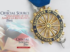 Daughters of the American Revolution Official Insignia American Revolutionary War, American Civil War, American History, Daughters Of American Revolution, Military Veterans, Military Art, Military Records, Star Family, Family Trees