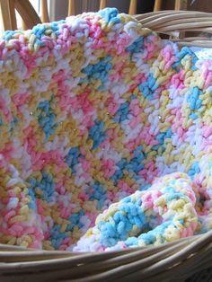 Candy Shoppe Dreams Baby Afghan via Craftsy