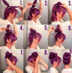 The Not Your Average Bun hair tutorial | PinTutorials