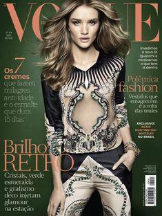 Vogue Brazil April 2012 Cover