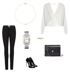 """""""Без названия #1694"""" by newyorkstylrer ❤ liked on Polyvore featuring Sole Society, Diane Von Furstenberg, Paige Denim, Chanel and Cartier"""