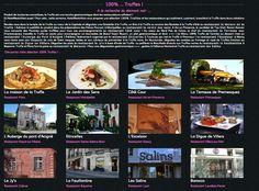 Découvrez une sélection 100% Truffe by HotelRestoVisio et les restaurants qui la cuisinent !