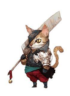 Tahra Mercenary Ocicat