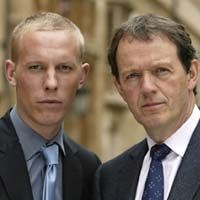 Inspector Lewis mystery detective series on PBS - looking forward to new episodes! Stars Kevin Whately as DI Robert Lewis and Laurence Fox as DS James Hathaway. Spinoff of the Inspector Morse series. Inspector Lewis, Inspector Morse, Masterpiece Mystery, Masterpiece Theater, Lewis Tv Series, Pbs Mystery, Laurence Fox, Tv Detectives, Detective Series