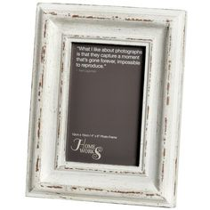 Antique White Picture Frame Hill Interiors Photo Size: x Deep Picture Frames, Buy Photo Frames, Picture Frames Online, White Picture Frames, Picture Frame Sets, Antique Photo Frames, Antique White Paints, Photo Frame Design, Hill Interiors